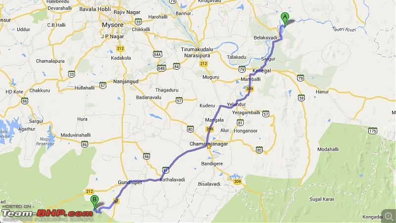 Wanderlust Traveller: Shivanasamudra - Himavad Gopalaswamy Betta-barachukkigopalaswamybettaroute.jpg