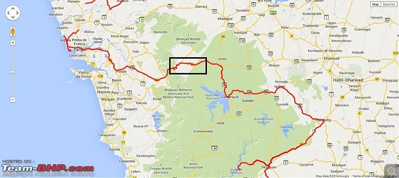 Civved : Goa, Yaana, Jog, Murdeshwar, Maravanthe, Mangalore...-googlemap20140730_111225.jpg