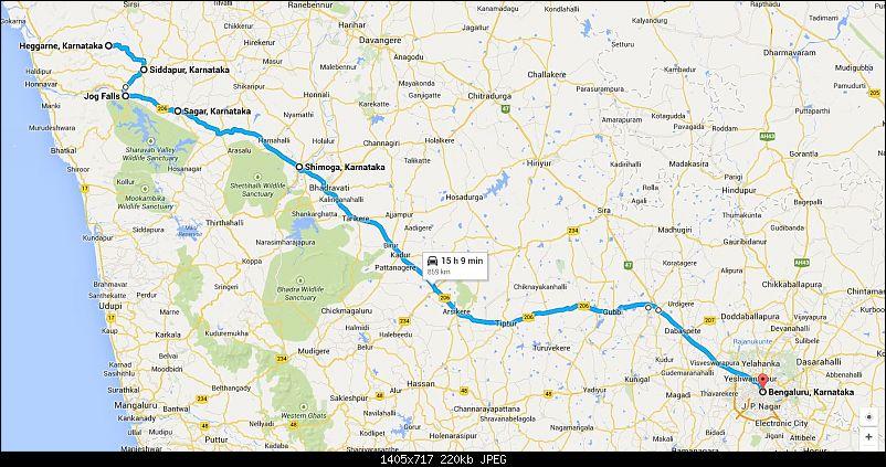 Monsoon dash to Malnad - Jog & Unchalli Falls-map.jpg