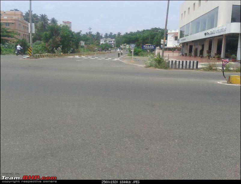 Victoria College, Palakkad to Malampuzha, Kerala - Just a small 7 kms road-kozhikode-bypass-junctin.jpg