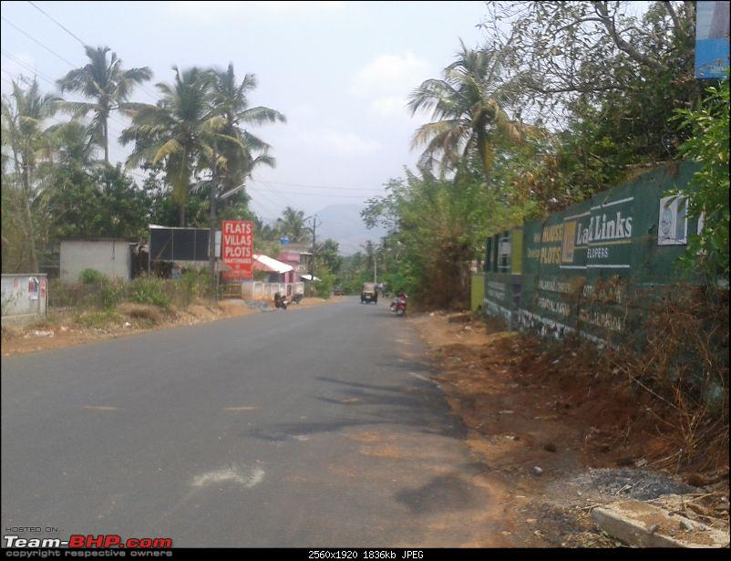 Victoria College, Palakkad to Malampuzha, Kerala - Just a small 7 kms road-gradient-causeway-approach.jpg