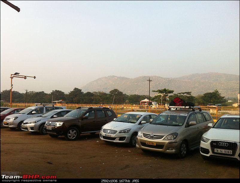 Bangalore Tranquebar - Weekend getaway.-dusty-restingsb-parking.jpg