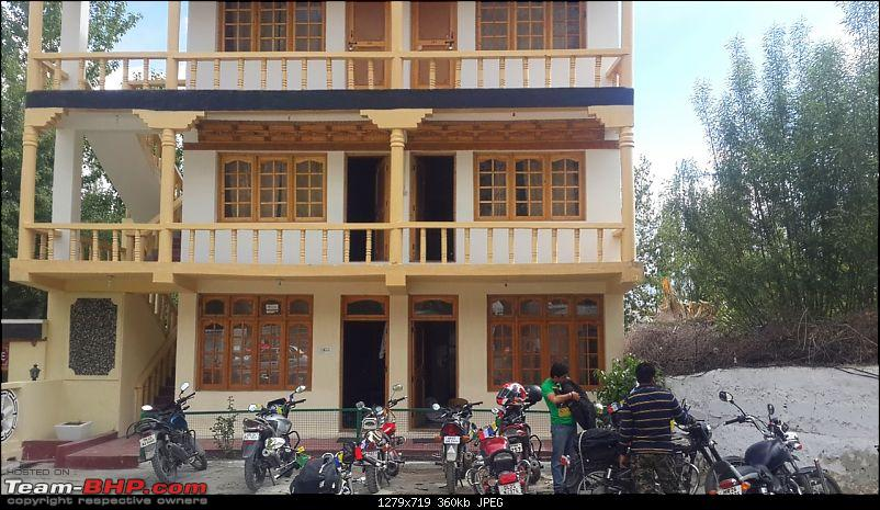 Lived the dream we dared to dream: Ladakh ride in June 2014-hotel3.jpg