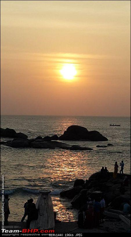 3 friends, 3 KTM D390s & 3200 kms - South India Coastal Ride-sunset.jpg