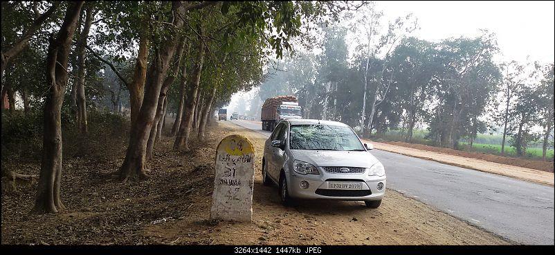 New Delhi �> Lucknow �> Kolkata: A Long Awaited Drive-20150121_142832.jpg