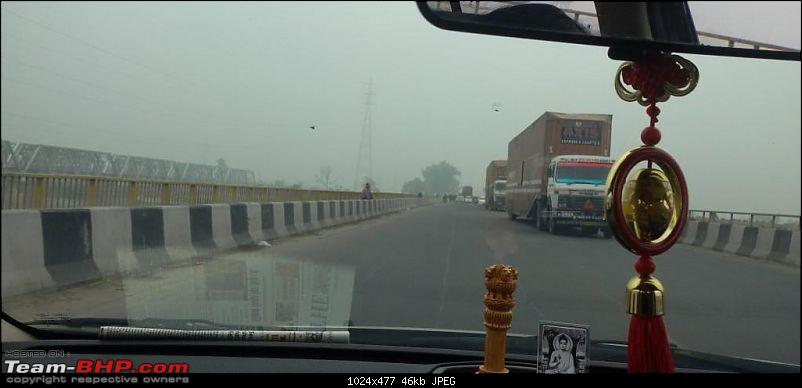 New Delhi –> Lucknow –> Kolkata: A Long Awaited Drive-20150124_130203.jpg