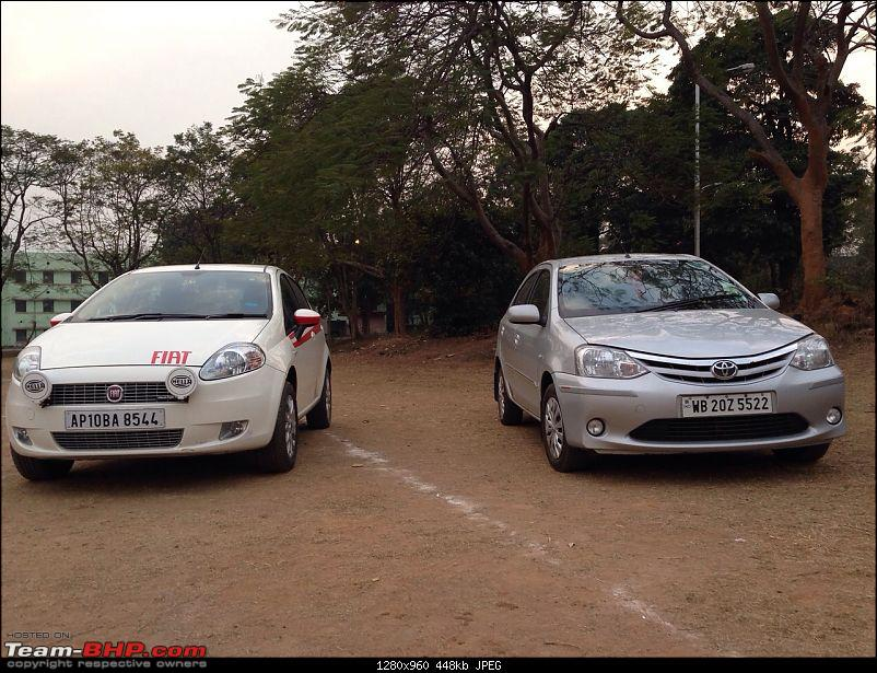 Punto to the rescue: Hyderabad to Asansol-etios.jpg