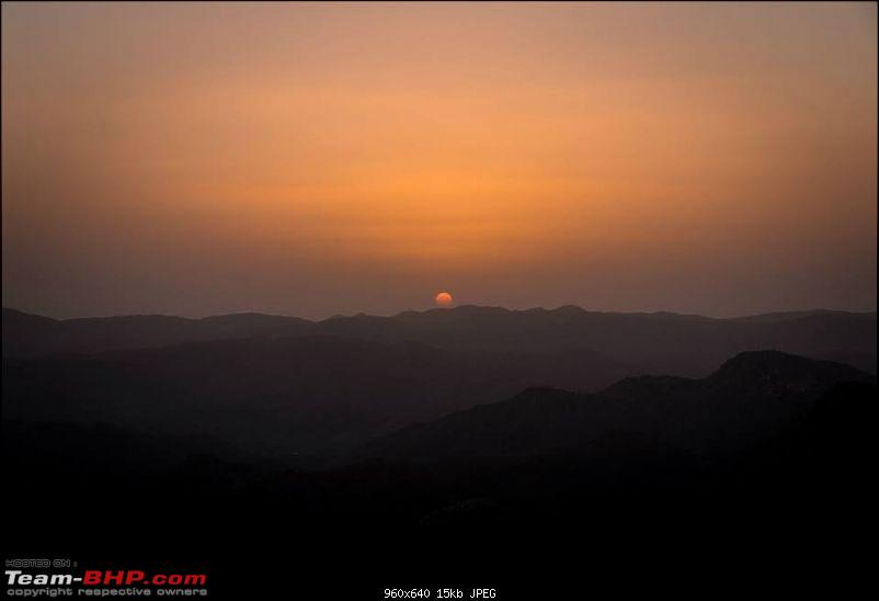 Mumbai to Udaipur & around - In the land of the Maharana-sunset.jpg