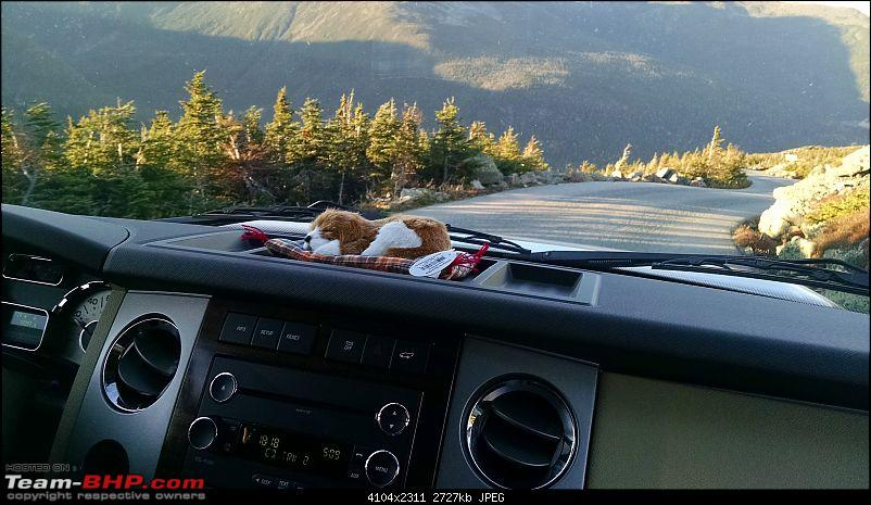 Driving a behemoth up Mt.Washington (NH, USA) - Ford Expedition 8-seater-sleepy.jpg