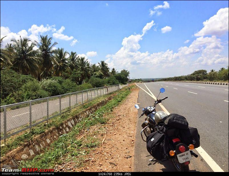 Me, my Bullet, Goa & South India: Solo ride of 1,700 kms-tumkur2.jpg