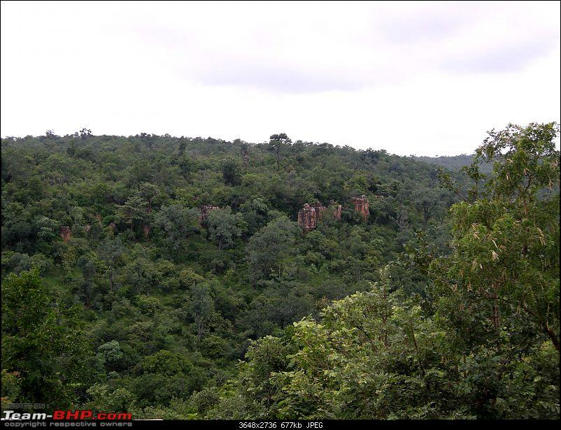 Hyderabad - Srisailam - Dornala - Kurnool.  Road pictures only-forest-ridge.jpg