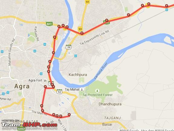 Name:  Amar Yatri Niwas to NH 2 Agra.jpg Views: 24499 Size:  87.9 KB