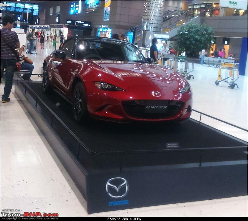 Photologue: Business Trip to Osaka, Japan-mazda-roadster-narita.jpg