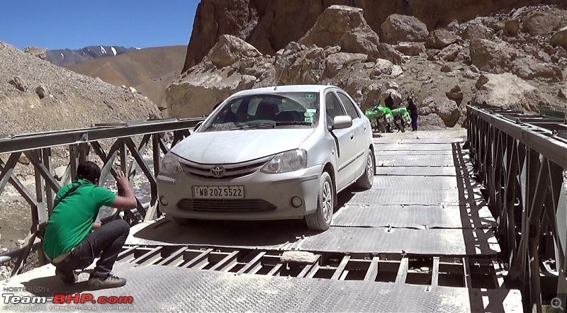 Sailed through the high passes in Hatchbacks, SUVs & a Sedan - Our Ladakh chapter from Kolkata-etios.jpg