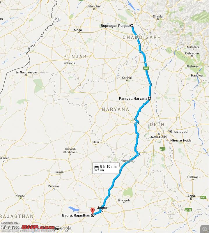 VW Polo GT TDI Chronicles: Ladakh and beyond! 5543 km, 13 days, 8 states, 2 souls & 1 car!-day-12-rupnagar-bagru.png