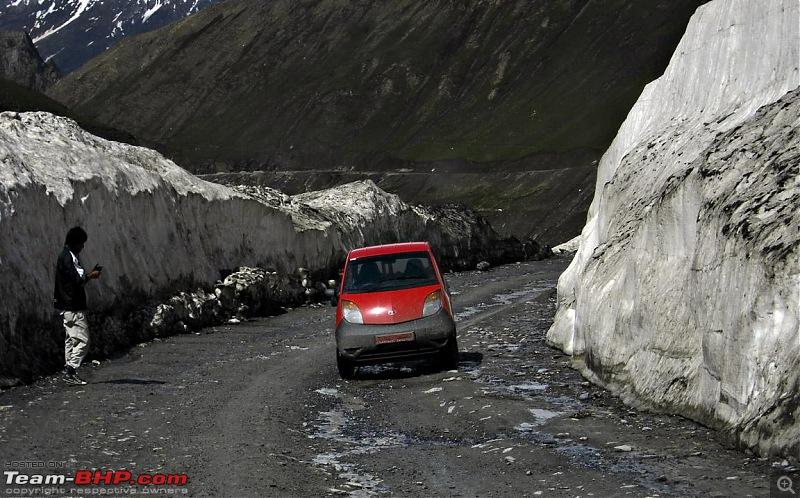 Sailed through the high passes in Hatchbacks, SUVs & a Sedan - Our Ladakh chapter from Kolkata-nano.jpg