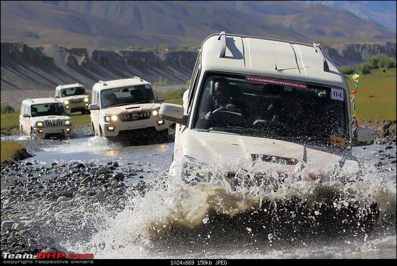 Report & Pics: The 2015 Himalayan Spiti Escape (Mahindra Adventure)-mahindra_spiti_escape_day5_waterfording.jpg
