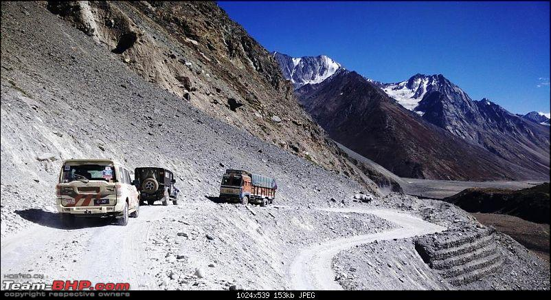 Report & Pics: The 2015 Himalayan Spiti Escape (Mahindra Adventure)-mahindra_spiti_escape_day7_truck.jpg