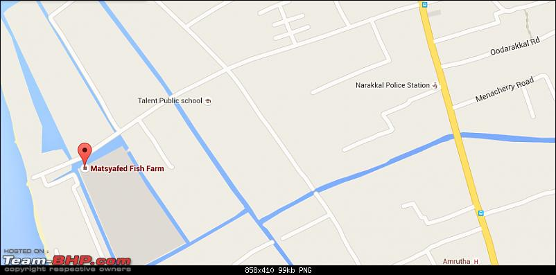 Day Trip to the Narakkal Fish Farm (Kerala)-narakkal-map.png