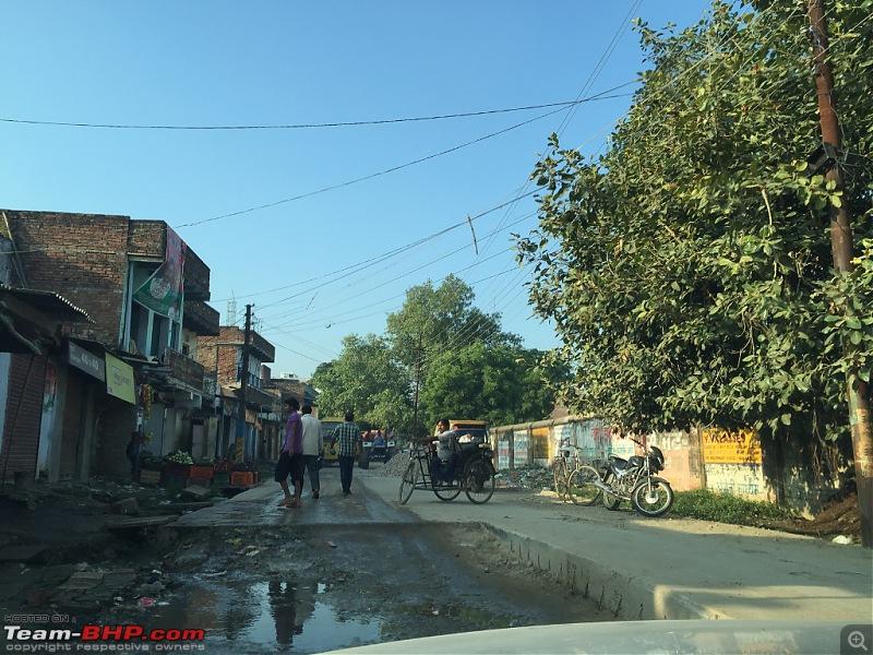 Where no Elantra has gone before - 5500 kms, 6 States & Bhutan!-varanasi_entry_road.jpg