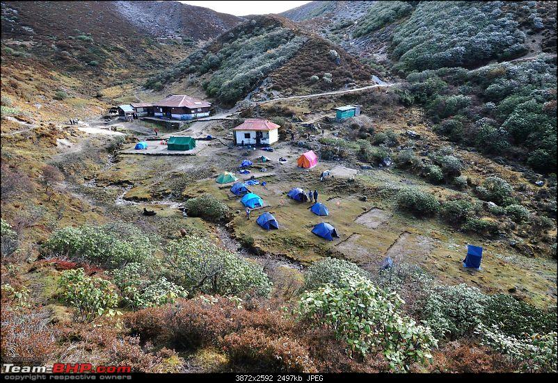 In the abode of the Himalayas - Hiking 4000 meters up to Dzongri-ourdzongricamp_01.jpg