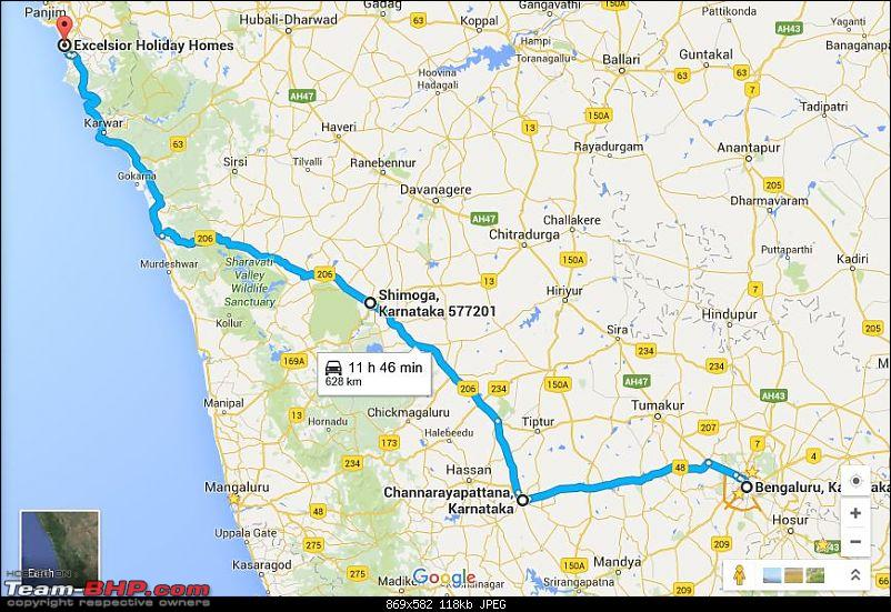 Go..Goa..Gone! Road trip from Bangalore -> Shimoga -> Goa-final_route.jpg