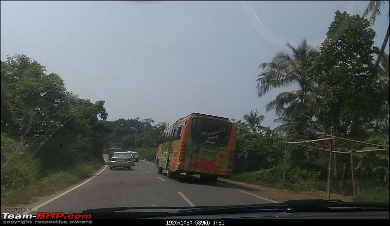 Across the plains and around the hills to drive by the sea (Virajpet, Kannur & Muzhappilangad)-kerala-bus.jpg