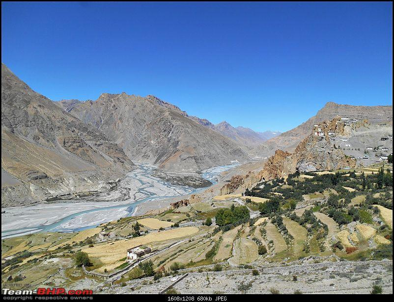 The rarefied air of a high altitude cold desert - Spiti Valley on Motorcycles-dscn6867.jpg