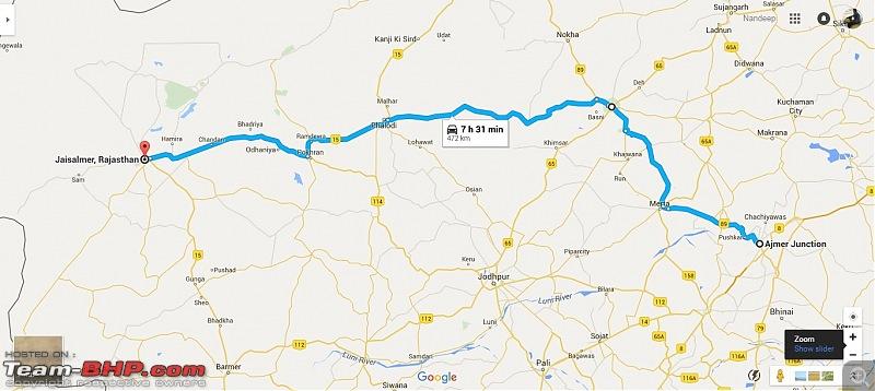 At the International Border - With an XUV500 to International Border Pillar No. 609-map-01.jpg