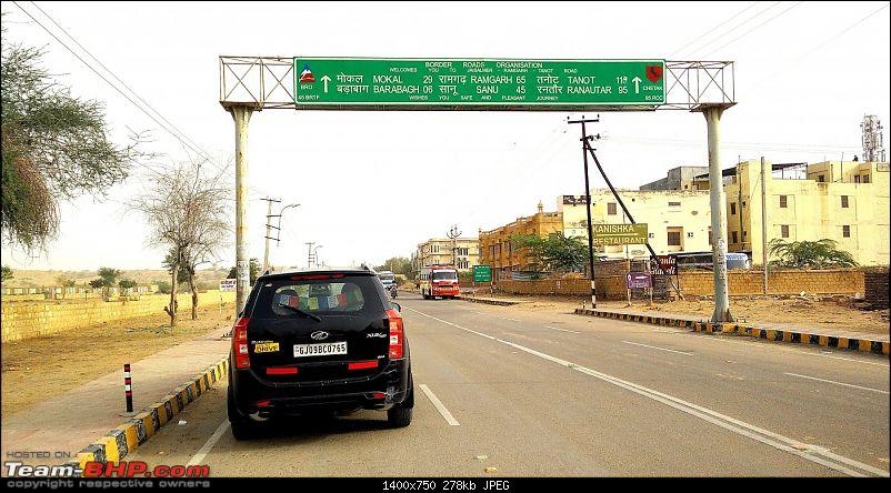 At the International Border - With an XUV500 to International Border Pillar No. 609-enroute-tanot.jpg