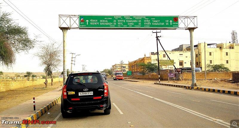 At the International Border - With an XUV500 to International Border Pillar No. 609-enroute-tanot.jpg