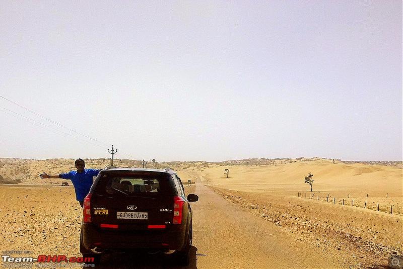 At the International Border - With an XUV500 to International Border Pillar No. 609-img_20150308_132551.jpg