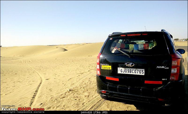 At the International Border - With an XUV500 to International Border Pillar No. 609-gm6.jpg