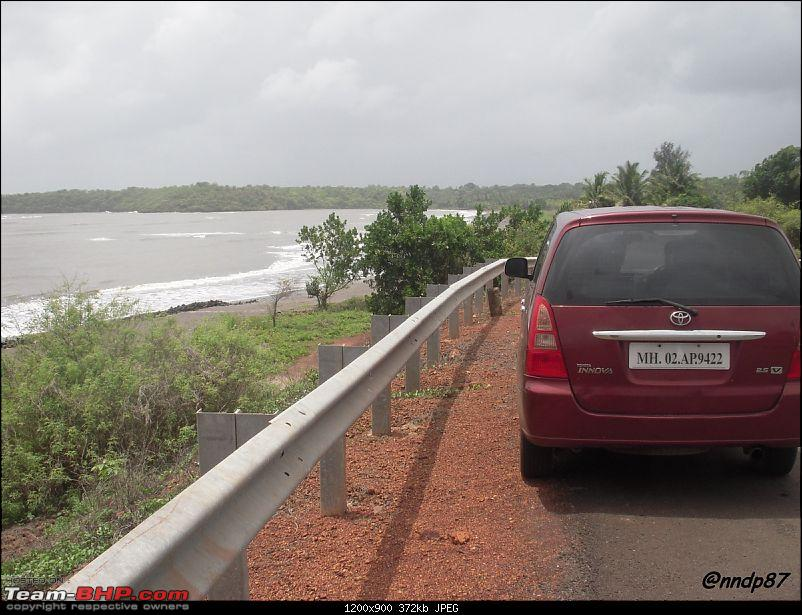 Sagari Mahamarg - Drive through the Coastal Route of Maharashtra-beach-innova.jpg