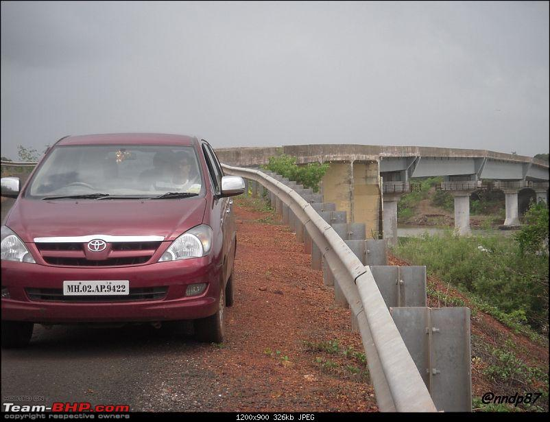 Sagari Mahamarg - Drive through the Coastal Route of Maharashtra-bridge-innova.jpg