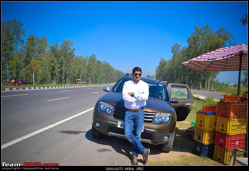 East to West (Kolkata - Amritsar) in a Duster AWD-me-kinnow-stop.jpg