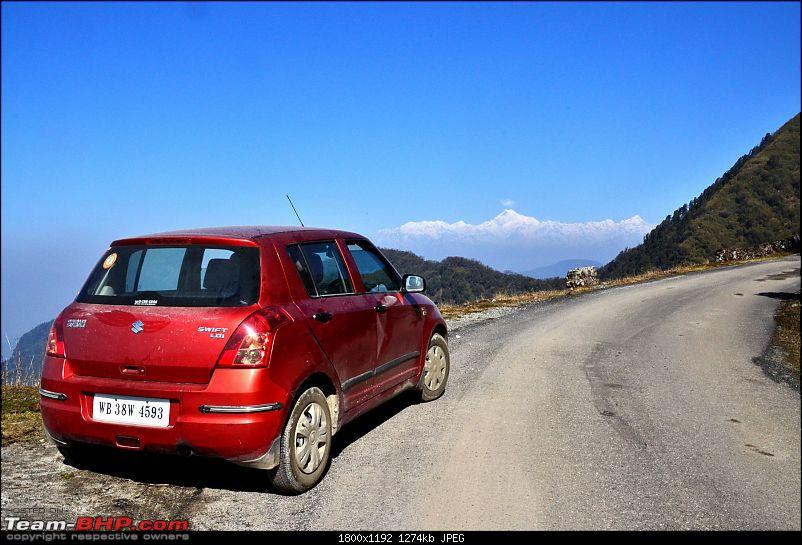 East Sikkim: Sailed through the Old Silk Route in hatchbacks, sedans and a Thar-swifty-enjoying-k-view-2.jpg