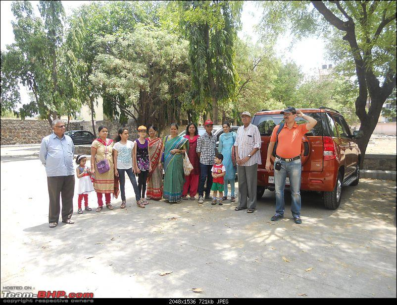 Short Sunday drive to Theur Chintamani & Bhuleshwar Temples-whole-gang-eclipsing-orange-tank.jpg