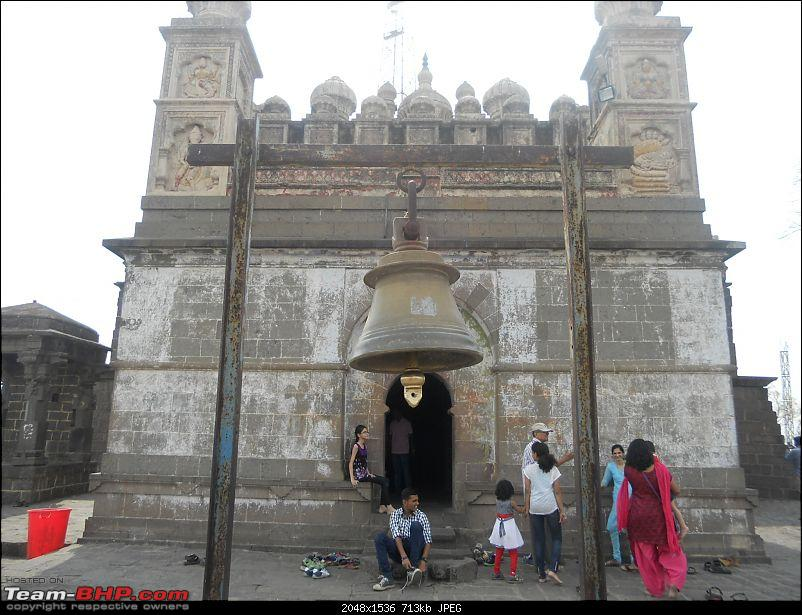 Short Sunday drive to Theur Chintamani & Bhuleshwar Temples-huge-bell-fron-main-entrance.jpg