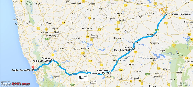 Driven: Hyderabad to Goa - Team-BHP