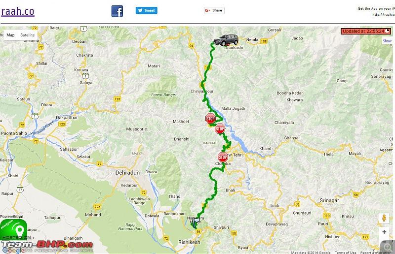 6,000 km Roadtrip: Bangalore to Garhwal Himalayas-rishikeshuttarkashi-route.jpg