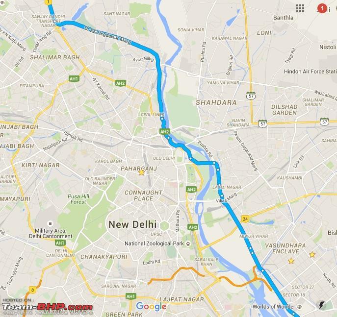 Name:  Fastest way to cross Delhi.jpg Views: 21534 Size:  195.4 KB