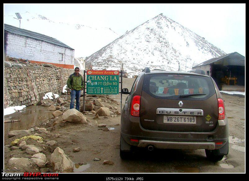 Kolkata to Ladakh & Siachen in a Duster AWD-chang-la.jpg