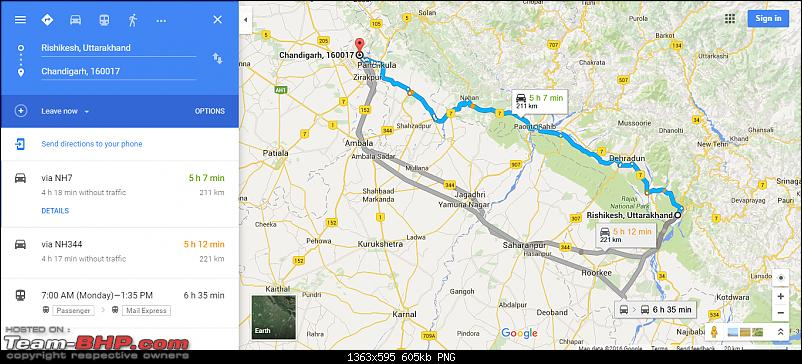 Uttarakhand calling: Trip to Yamunotri & Gangotri in a hatchback-route-map-day-8.png