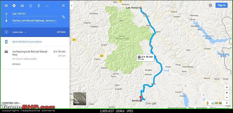 The mountains are calling & I must go! Tour de Ladakh in a Maruti Dzire-route-map-day-10.jpg