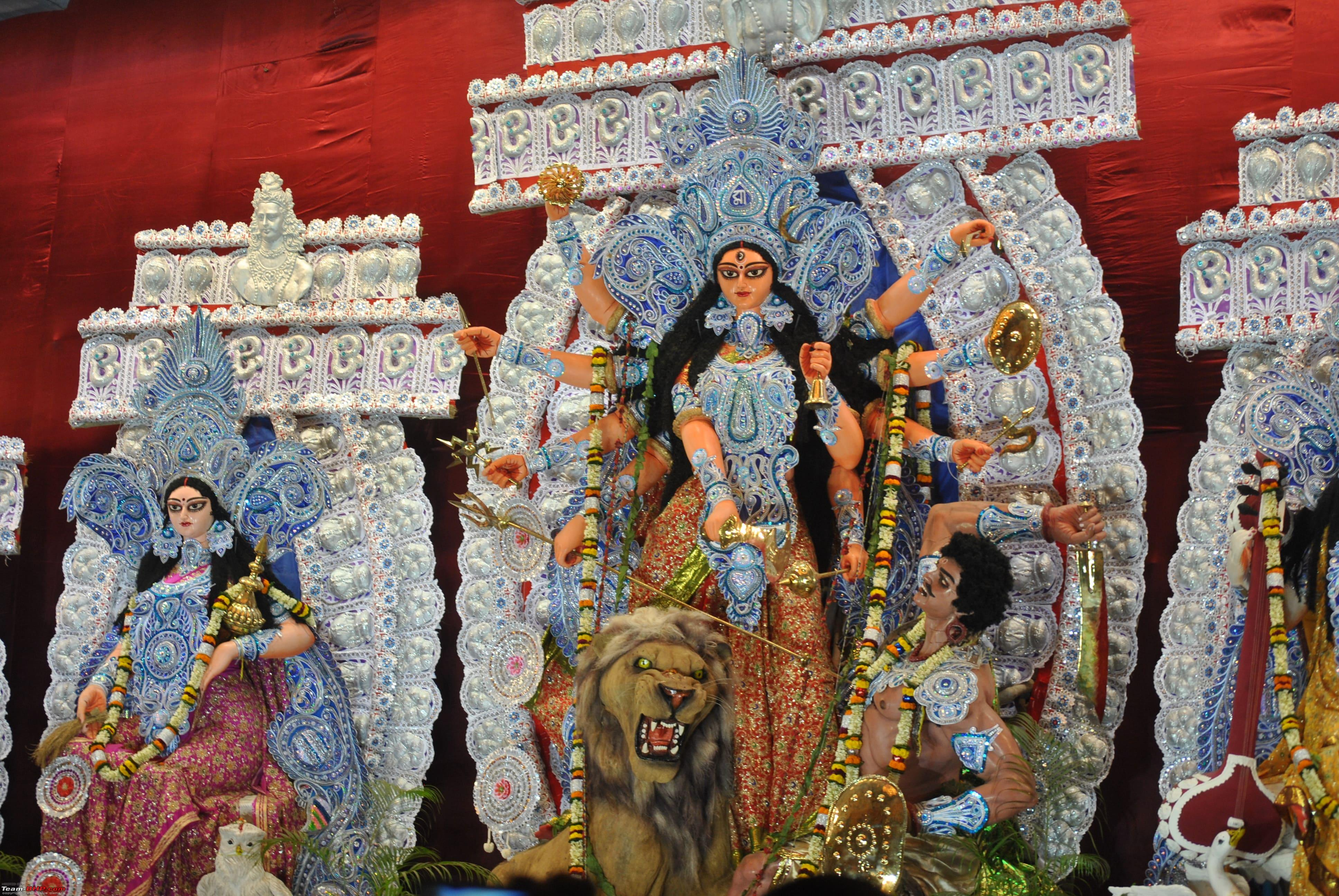 essay on durga puja in kolkata If you want to witness one of the best ways of celebrations of durga puja, kolkata is where you should the streets are lit up with led lights and they glow so.