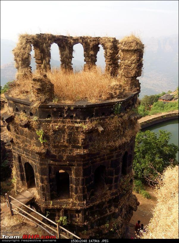 Kille Raigad: A tribute to the Capital Fort of the Maratha Kingdom-three-storeyed-watch-tower-used-lit-up-using-torches-mashals-diyas-during-evenings.jpg
