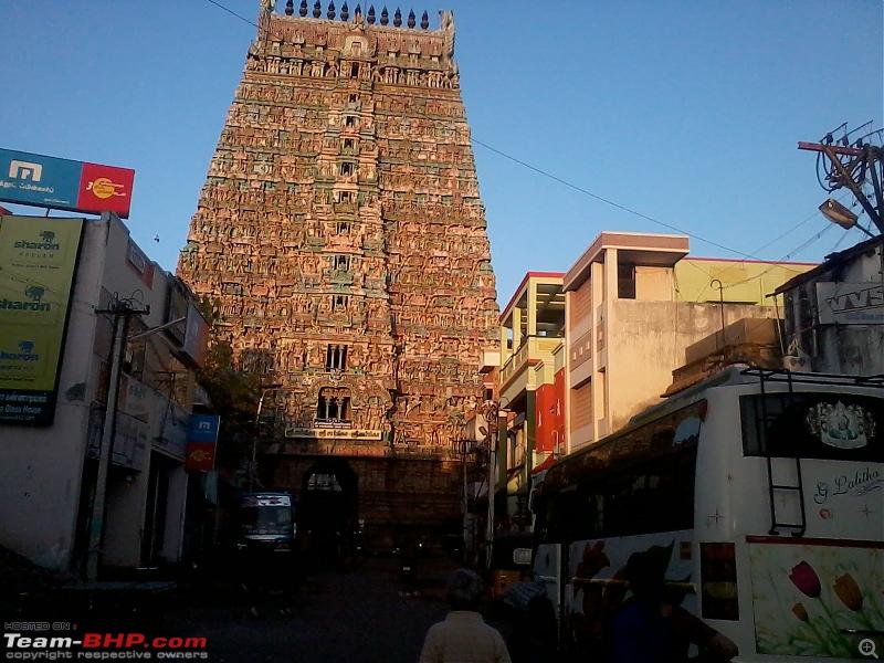 12,500 km drive circumambulating India : A road-trip in my WagonR-kumbhakonam-sarangapani-temple.jpg