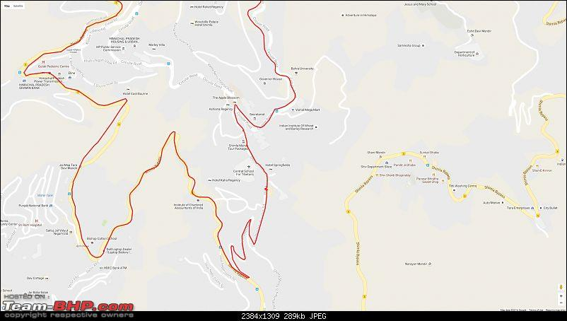 Himachal Pradesh: Summer Holidays on the hills, exploring touristy spots & some hidden gems-googlemap20161120_090102.jpg