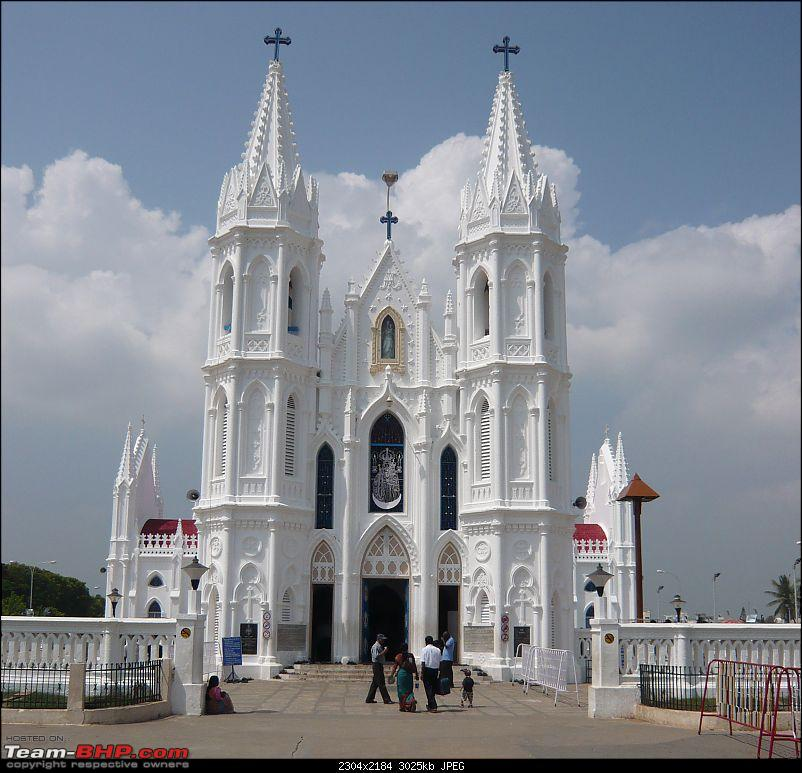 Temple Run: A triangular drive to the Greatest Ganesha Temples in Tamil Nadu!-vailankanni_basilica1.jpg